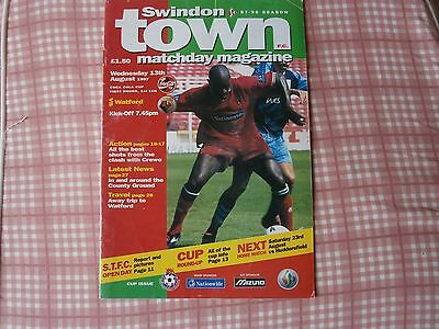 Swindon Town v Watford,coca cola cup 1997