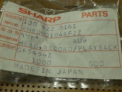 NOS Sharp Record / Playback Head for Sharp GF5454Z Boombox RHEDH0104AFZZ