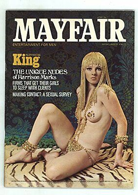 mayfair magazine volume 4 number 11 mens adult glamour magazine