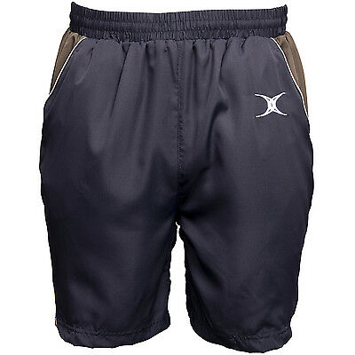 Clearance Line New Gilbert Rugby Vision Leisure Gym Shorts Navy Large