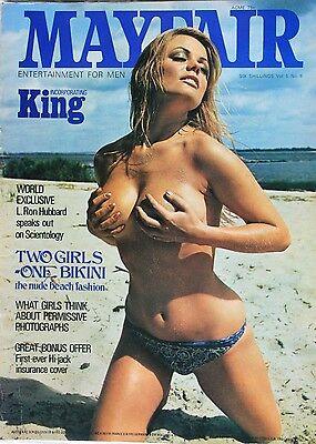 mayfair magazine volume 5 number 6 mens adult glamour magazine