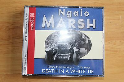 Death in a White Tie Ngaio Marsh Audio Book 3 CD's read by Benedict Cumberbatch