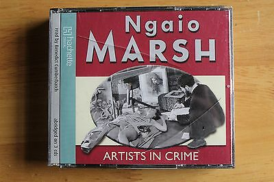 Artists in Crime Ngaio Marsh Audio Book 3 CD's read by Benedict Cumberbatch