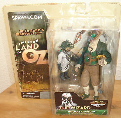 McFarlane Monsters Series 2 Twisted Land of Oz The Wizard 15 cm Figur  - Neu
