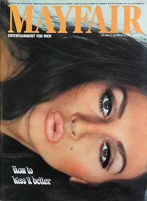 mayfair magazine volume 2 number 11 mens adult glamour magazine