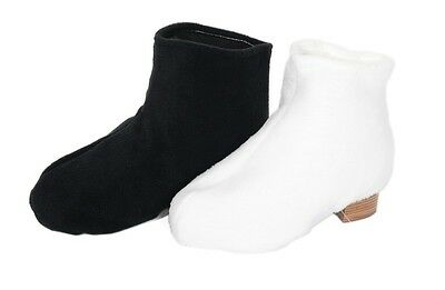 Jerry's thinsulate boot cover - white - figure skating -NEW- FREE P&P - 50% off