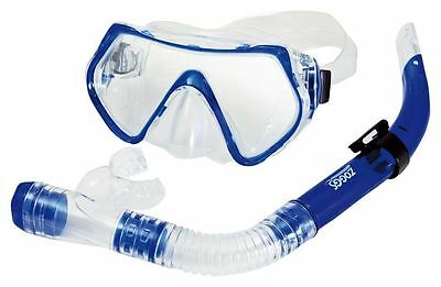 Zoggs Reef Explorer Adult Snorkel & Mask - Blue