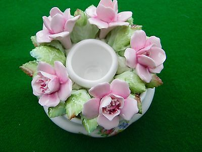 China Flowers in a Small Bowl