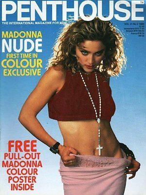 PENTHOUSE volume 21 number 4 madonna mens adult glamour magazine
