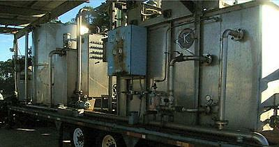 *** Water Treatment Plant complete on trailer Kemco Air Sparged Hydrocyclone ***