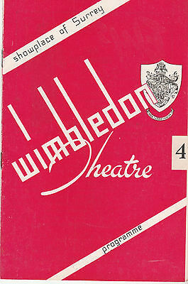 Wimbledon Theatre 1952 Programme - English Opera Group In Let's Make An Opera