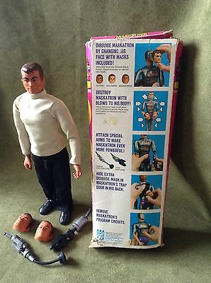 Vintage six million dollar man, Maskatron Action Figure , Boxed S Photos