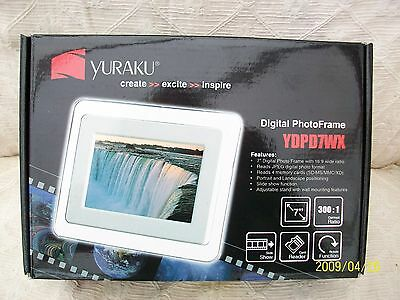 Brand new Yuraku Digital Photo Frame.