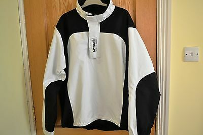 Galvin Green Waterproof Jacket Gore-tex Performance shell White/Black Size Large