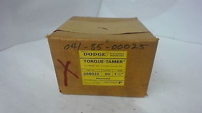 "Dodge 096022 Torque Tamer 50 X 1-1/2"" Bore"