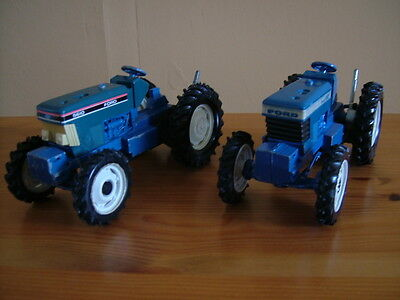Britains Ford Tw20 & 5610 Tractors 1:32 Scale, Spares Or Repairs
