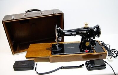 Singer 201K-2 heavy duty EXCELLENT Sewing Machine  *FULLY SERVICED