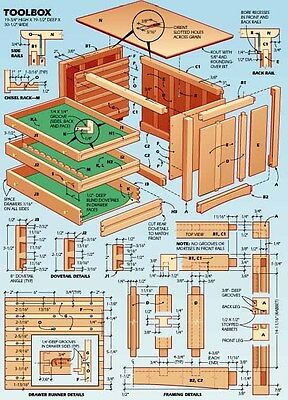 DIY Carpentry Woodworking Business 12gb 3 Dvds 100'000 Plans Make Own Furniture