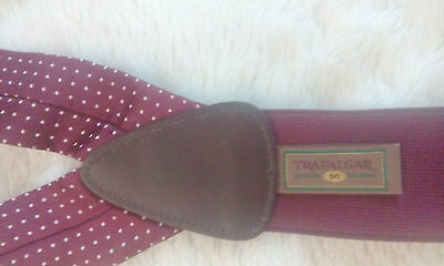 Amazing Trafalgar Suspenders Braces, Very Good Conditions