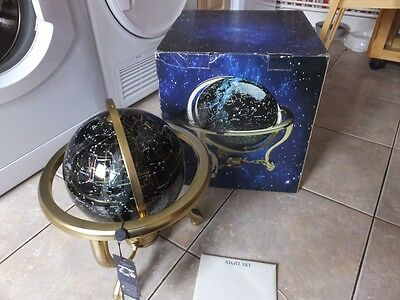 Genuine Exquisite Large Heavy Night Sky Gemstone Globe