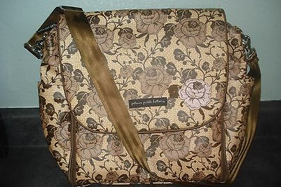 Petunia Pickle Bottom Boxy Backpack Windermere Rose Diaper Bag ALL Straps