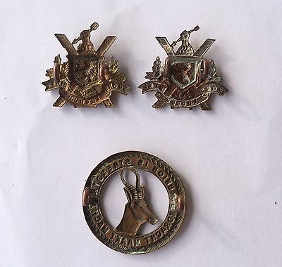 South African WW1 4th Scottish Infantry Brigade Badge Set