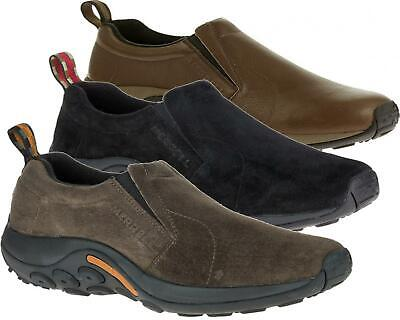 Merrell Mens Real Suede Leather Casual Trainer Walking Hiking Shoe Jungle