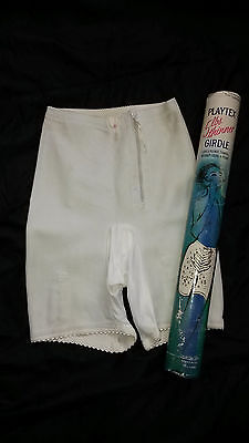 PLAYTEX Vintage Rubber Girdle Panty Miederhose, small