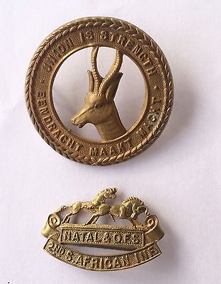 South African WW1 2nd Infantry Brigade Badge Set