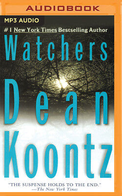 Watchers by Dean Koontz (2016, MP3 CD, Unabridged)