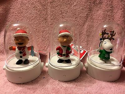 Hallmark:  Happy Tappers  Peanuts: Linus, Snoopy & Charlie Brown