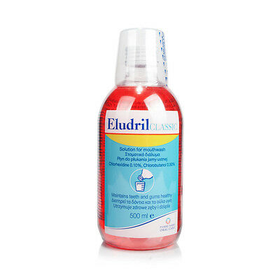 ELUDRIL CLASSIC mouthwash 2 x 500ml