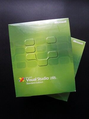 Microsoft Visual Studio 2005 Standard Full UK Retail Boxed DVD English 127-00012