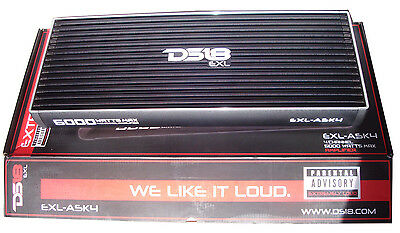 Amplicateur DS18 EXL-A5K4 4 channel 5000 watts amplifier