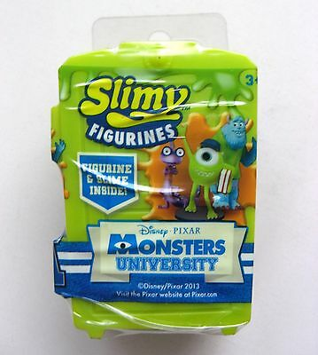 Pixar Monsters University Slimy Figurine With Door & Slime - Brand New & Sealed!