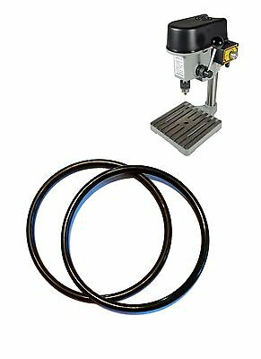 2 pcs Drive Belt for Mini Bench/Hobby/Pillar Drill Press Spare PCB Rotary