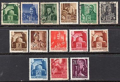 Hungary: Very Nice Selection of 14-1943-45 Mint & Used Issues