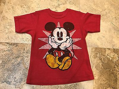 Toddler Boys Mickey Mouse short sleeve T-Shirt 3T