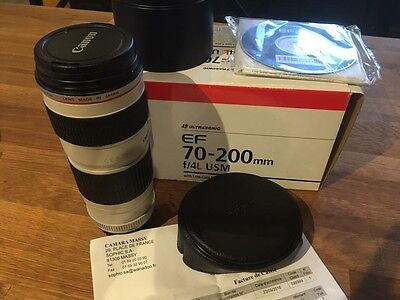 Objectif Canon Ef 70-200 f4L