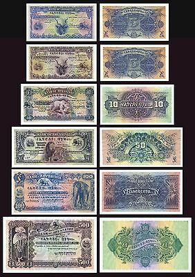 BANK OF ABYSSINIA COPY LOT A (1915 - 1929) - Reproductions