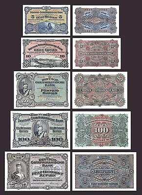 GERMAN EAST AFRICA COPY LOT A (1905 -1912) - Reproductions