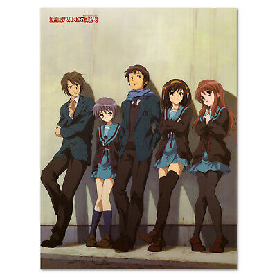The Melancholy of Haruhi Suzumiya Poster - High Quality Prints