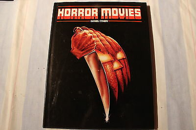 Horror Movies by Daniel Cohen Hardcover, 1984. Halloween (1978) Cover, Dracula