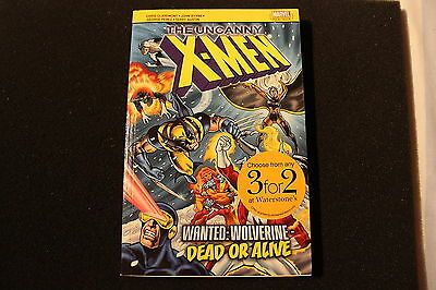 Uncanny Xmen Wanted Wolverine Dead or Alive Marvel Pocketbook Comic Novel