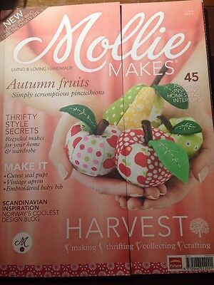 Mollie Makes magazine issue 6 Making thrifting collecting crafting
