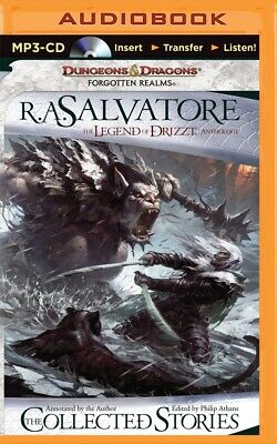 The Collected Stories : The Legend of Drizzt by R. A. Salvatore (2015, MP3...