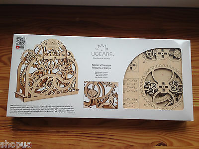 Mechanical Theater UGEARS 3D Mechanical Wooden Model for self-assembly