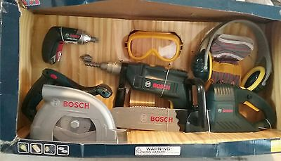 Theo Klein BOSCH Mini Construction 8 Piece Tools Playset - NEW Old Stock