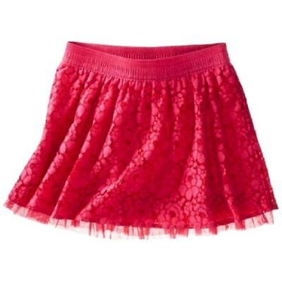 Girls Cherokee Pink LACE Skirt Size 7/8  NWT