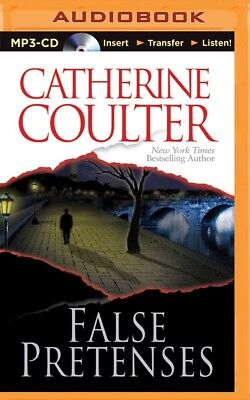 False Pretenses by Catherine Coulter (2014, MP3 CD, Unabridged)